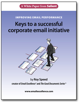 Salient White Paper: Keys to a successful email initiative
